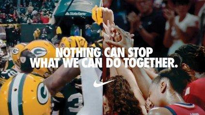 """Реклама Nike """"Нас не зупинити"""" - фото 1"""