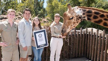 Найвищий у світі жираф - фото 1