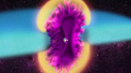 Масштабний космічний вибух потрапив на фото - фото 1