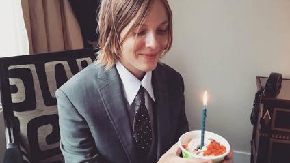 29-річна письменниця святкує отримання Букера - фото 1
