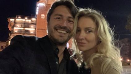 Сергій Притула з дружиною - фото 1