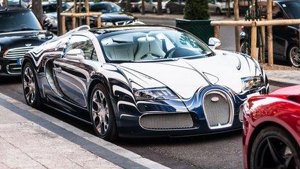 Bugatti Veyron Grand Sport Vitesse L'Or Blanc - фото 1