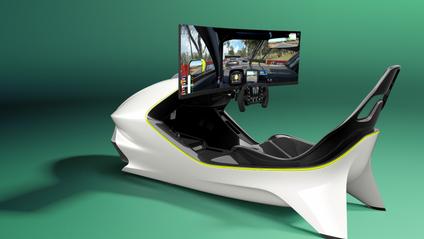 Гоночний симулятор Aston Martin Curv Racing Simulator - фото 1