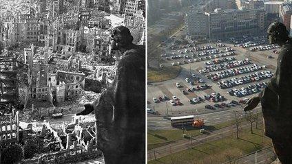 Дрезден під час Другої світової війни і зараз - фото 1