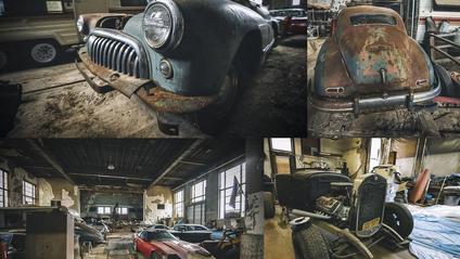 Колись стару школу використовували для ремонту авто - фото 1
