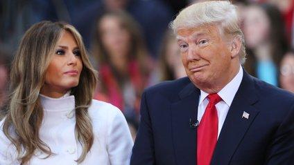 Дональд і Меланія Трамп - фото 1