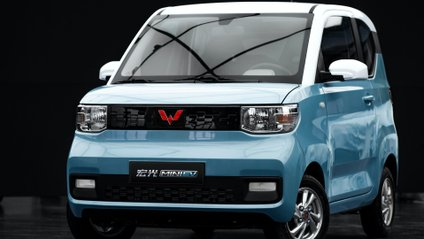 Wuling Hong Guang Mini EV - фото 1