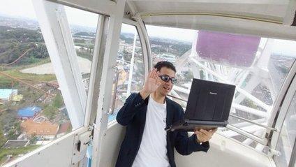 У Японії запропонували працювати на колесі огляду тим, хто не прив'язаний до офісу - фото 1