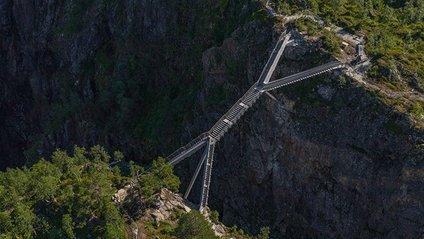 Міст через водоспад Ворінгфоссен - фото 1