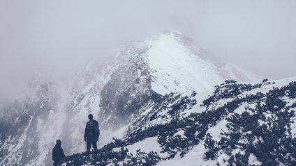 Сніг у Карпатах - фото 1