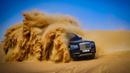Rolls-Royce Cullinan пройшов випробування пустелею - фото 1