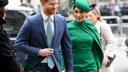 Новий офіційний прртрет Меган Маркл і принца Гаррі - фото 1