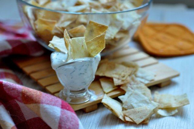 Солодкі чіпси з лаваша - фото 291114