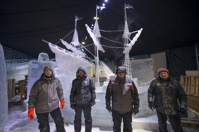 У Брюгге відкрилася виставка льодяних скульптур: яскраві фото - фото 291237