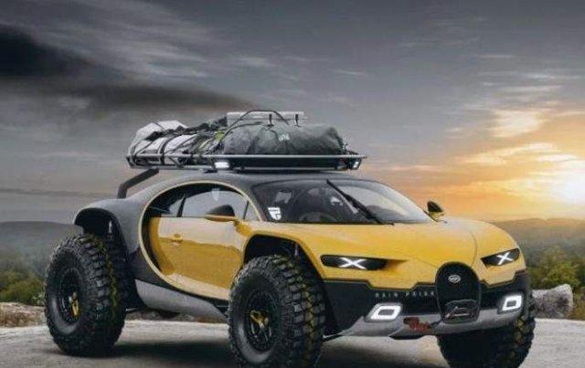 Bugatti Chiron у вигляді позашляховика - фото 291413
