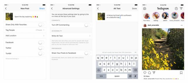 Instagram буде описувати свої фото, і ось чому - фото 292207