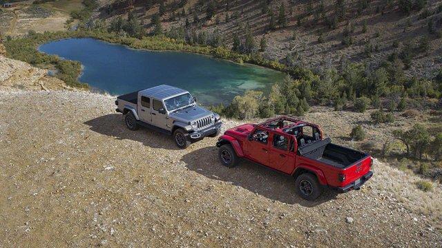 Новий пікап Jeep Gladiator - фото 292336