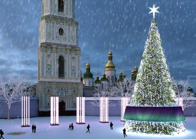 Новий рік 2019: скільки витратять на ялинку в Києві - фото 292414