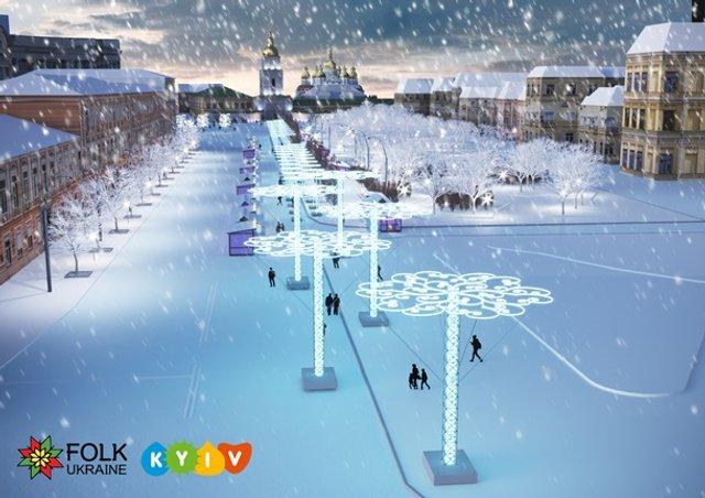 Новий рік 2019: скільки витратять на ялинку в Києві - фото 292415