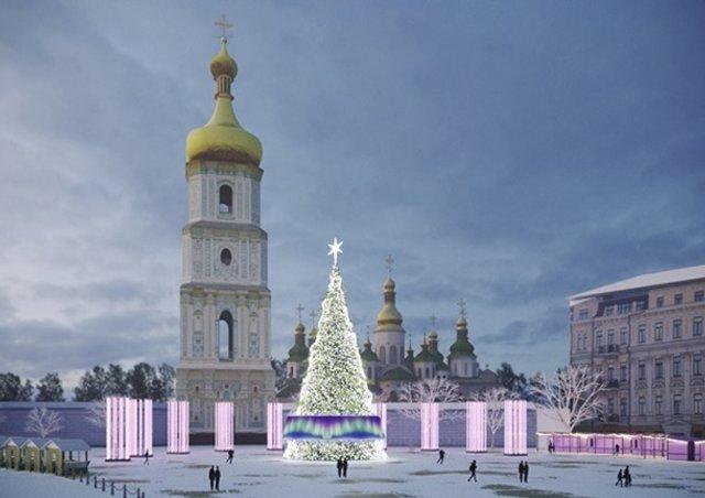 Новий рік 2019: скільки витратять на ялинку в Києві - фото 292416