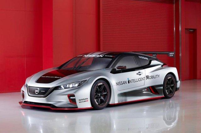 Nissan Leaf другого покоління перетворили на гоночний електрокар - фото 292429