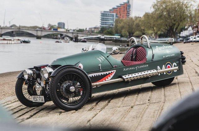 Класичні автомобілі Morgan - фото 292516