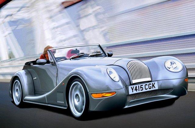 Класичні автомобілі Morgan - фото 292518