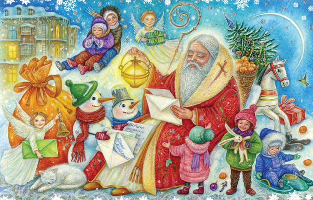 Легенди про Святого Миколая - фото 292789