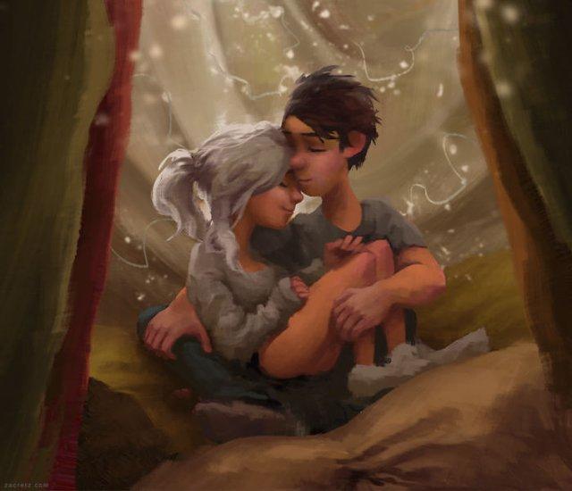 Чарівні ілюстрації про любов та почуття, які зігрівають серце - фото 292907