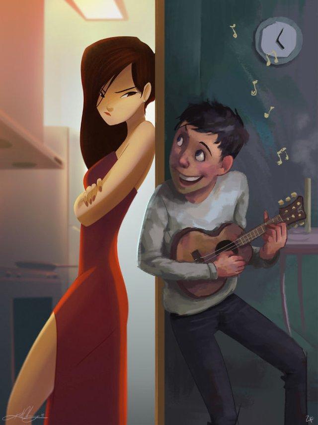 Чарівні ілюстрації про любов та почуття, які зігрівають серце - фото 292908