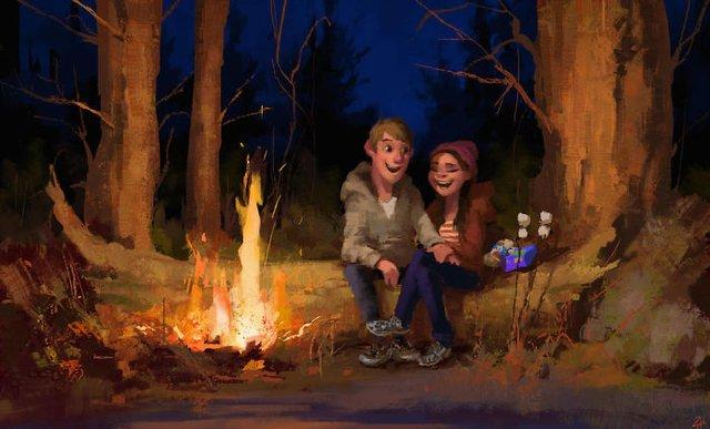 Чарівні ілюстрації про любов та почуття, які зігрівають серце - фото 292909