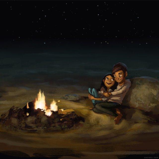 Чарівні ілюстрації про любов та почуття, які зігрівають серце - фото 292911