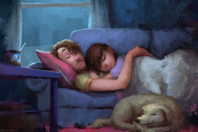 Чарівні ілюстрації про любов та почуття, які зігрівають серце - фото 292913