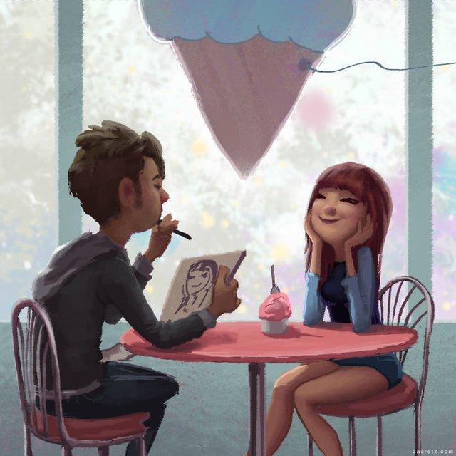 Чарівні ілюстрації про любов та почуття, які зігрівають серце - фото 292916