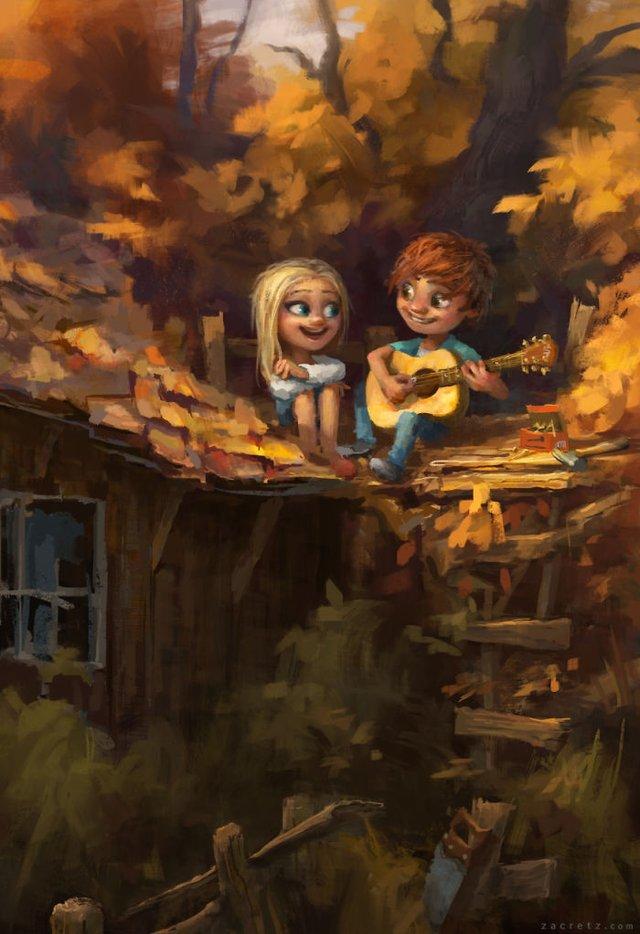 Чарівні ілюстрації про любов та почуття, які зігрівають серце - фото 292919