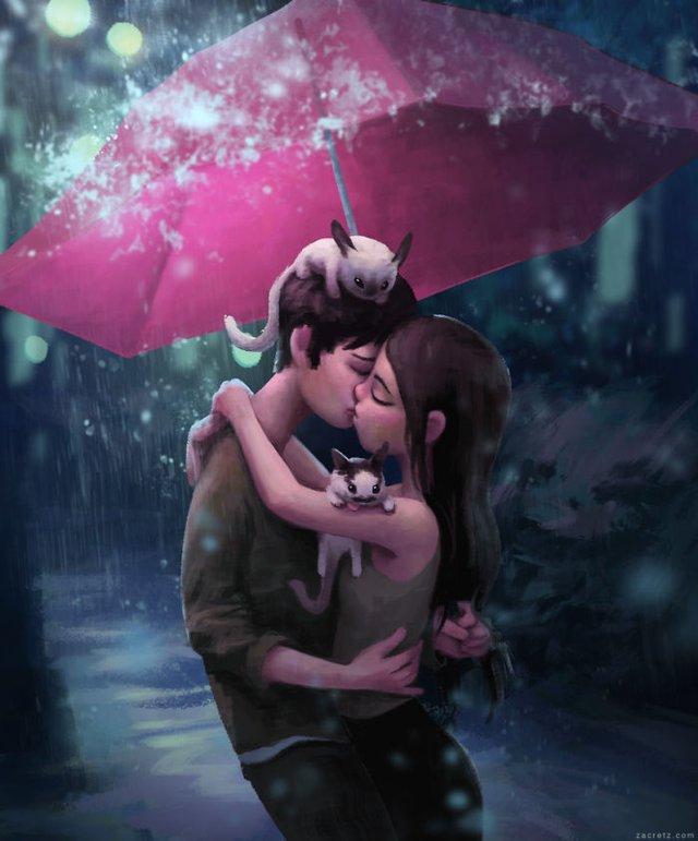 Чарівні ілюстрації про любов та почуття, які зігрівають серце - фото 292920