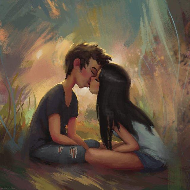 Чарівні ілюстрації про любов та почуття, які зігрівають серце - фото 292921