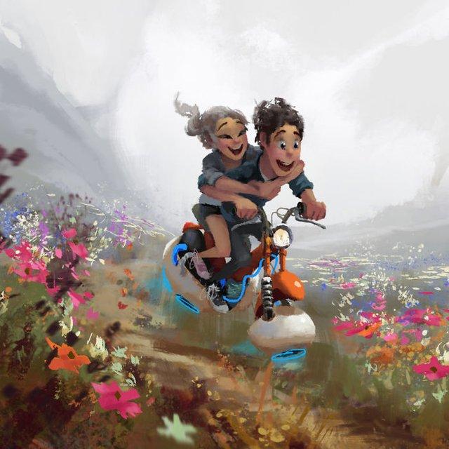 Чарівні ілюстрації про любов та почуття, які зігрівають серце - фото 292922