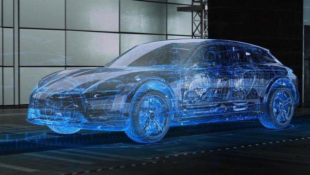 Porsche Cross Turismo проходить віртуальне тестування - фото 293035