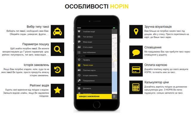 У Львові запрацював онлайн-сервіс замовлення таксі Hopin - фото 293041