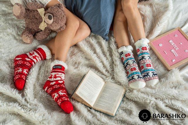 Теплі та яскраві шкарпетки - фото 293106