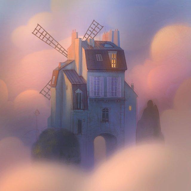 Неймовірні світи, які переносять у казку: ілюстрації - фото 293183