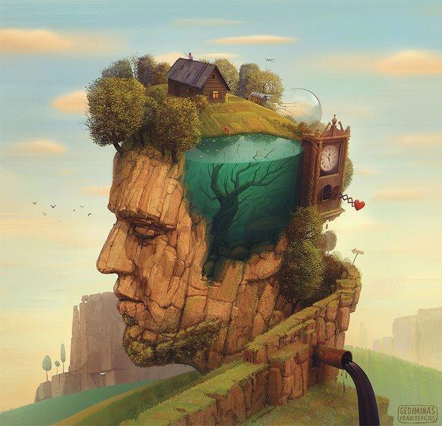 Неймовірні світи, які переносять у казку: ілюстрації - фото 293189