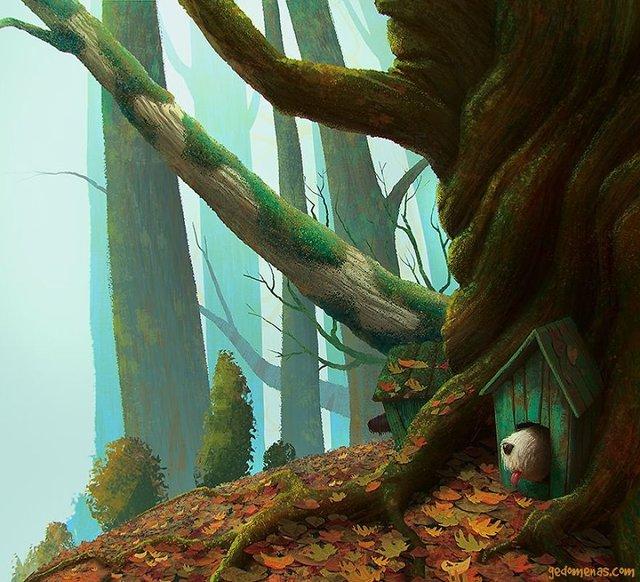 Неймовірні світи, які переносять у казку: ілюстрації - фото 293190