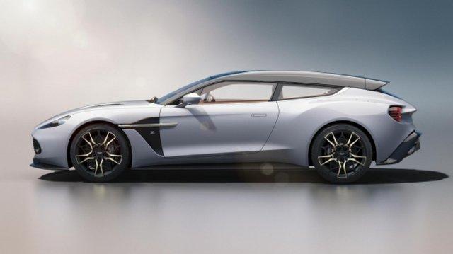 Vanquish Shooting Brake Zagato від Aston Martin - фото 293270