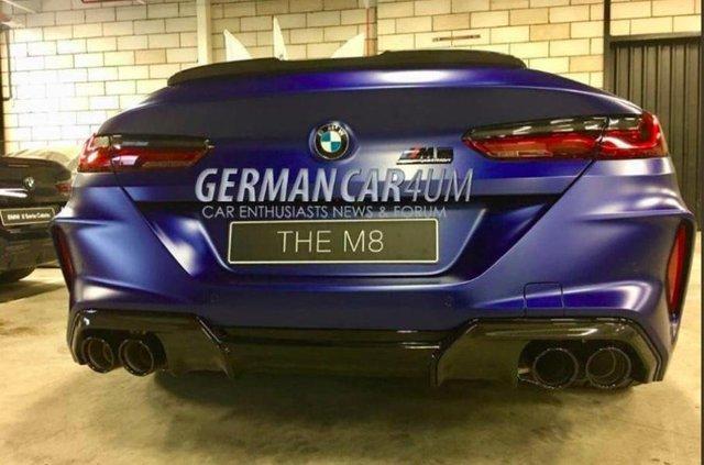 Нові фото BMW M8 - фото 293322