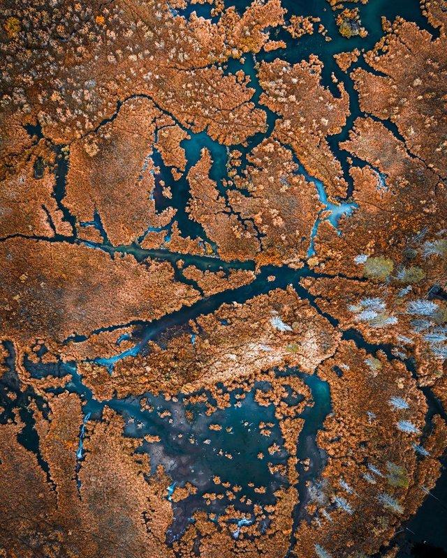 Пейзажі світу з висоти пташиного польоту: ефектні фото - фото 293372