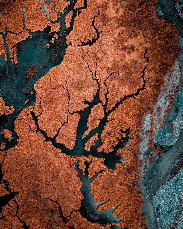 Пейзажі світу з висоти пташиного польоту: ефектні фото - фото 293379