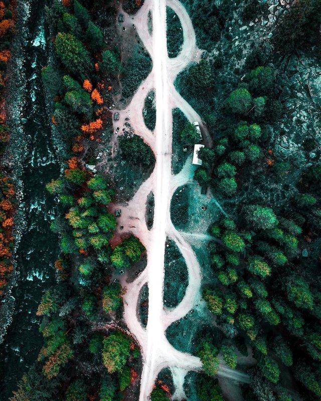 Пейзажі світу з висоти пташиного польоту: ефектні фото - фото 293380