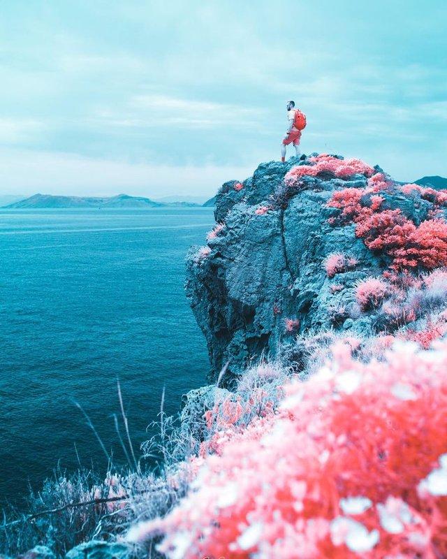 Італієць показує світ у нетипових кольорах: вражаючі фото - фото 293452
